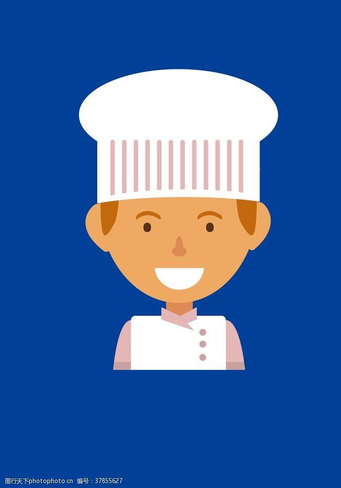厨师卡通人物卡通厨师