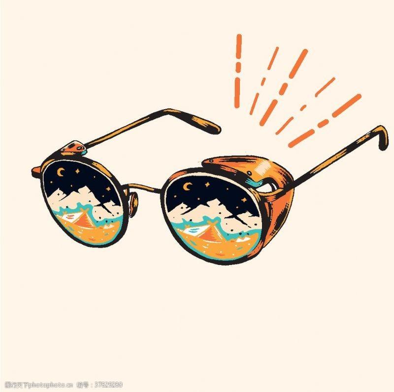太阳眼镜墨镜