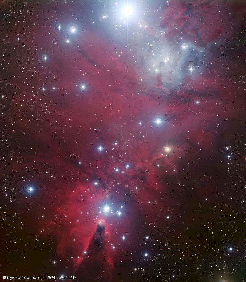 太空绚丽星空