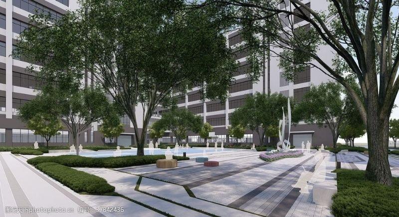 景观规划工厂景观设计广东建科设计