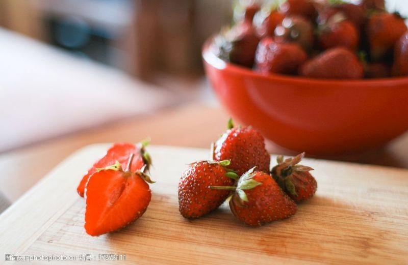 绿色食品草莓
