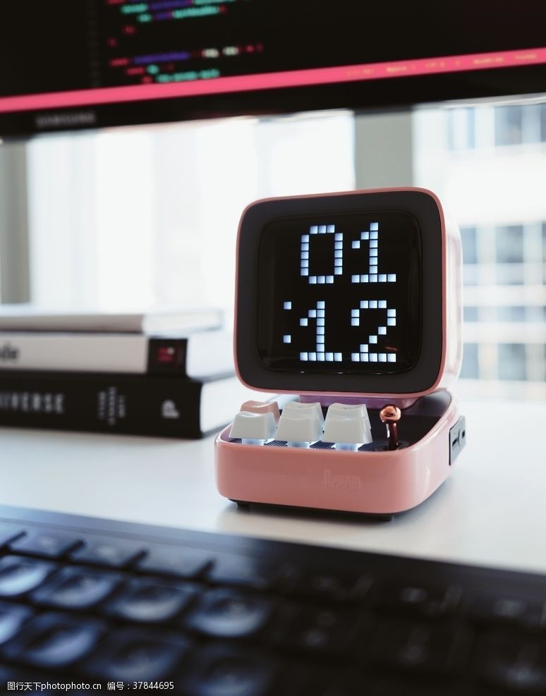 桌面电子钟办公桌