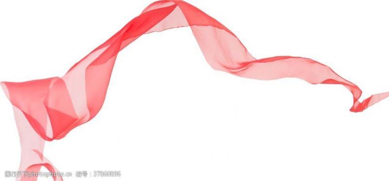 旗帜红色飘带