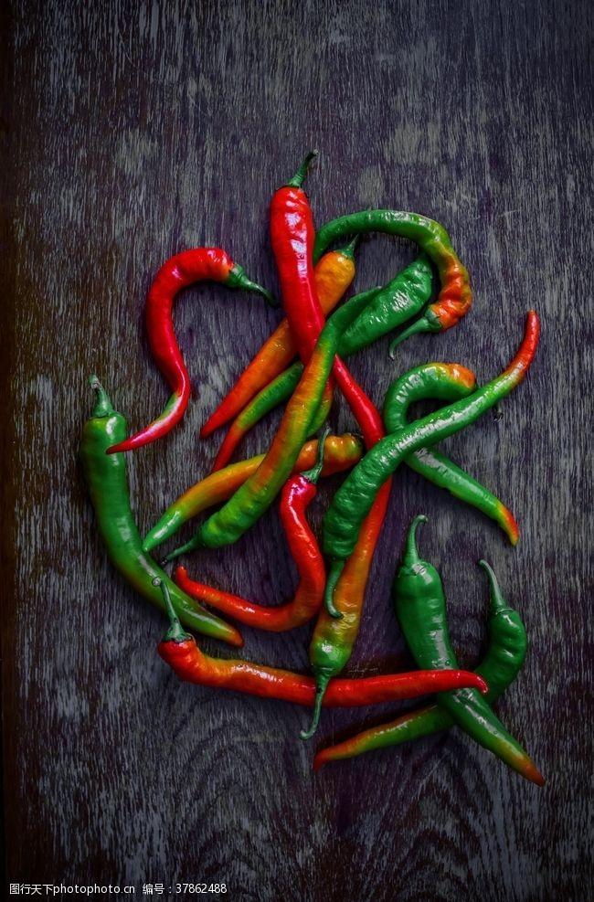 绿色食品辣椒