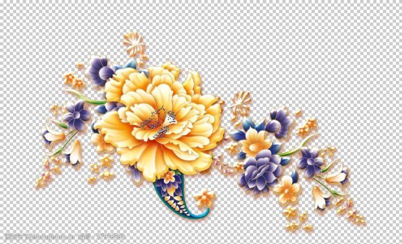 花纹镂空花图案