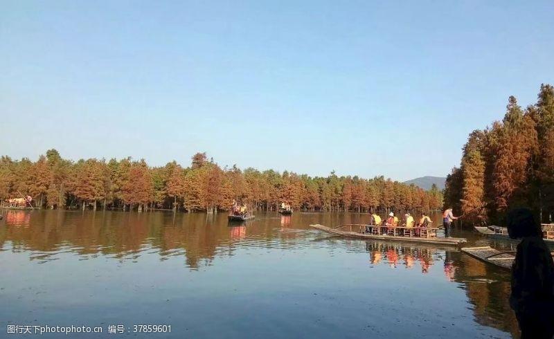 竹筏尚湖游玩