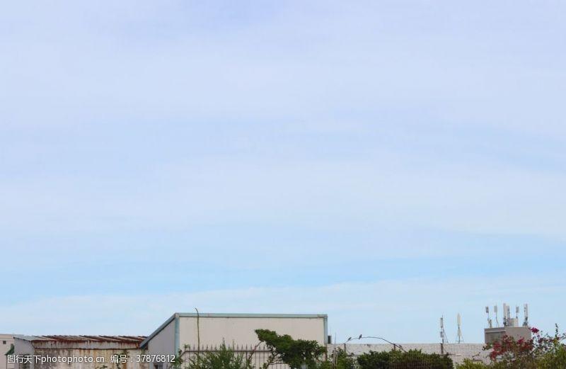 蓝天白云天空云朵蓝天