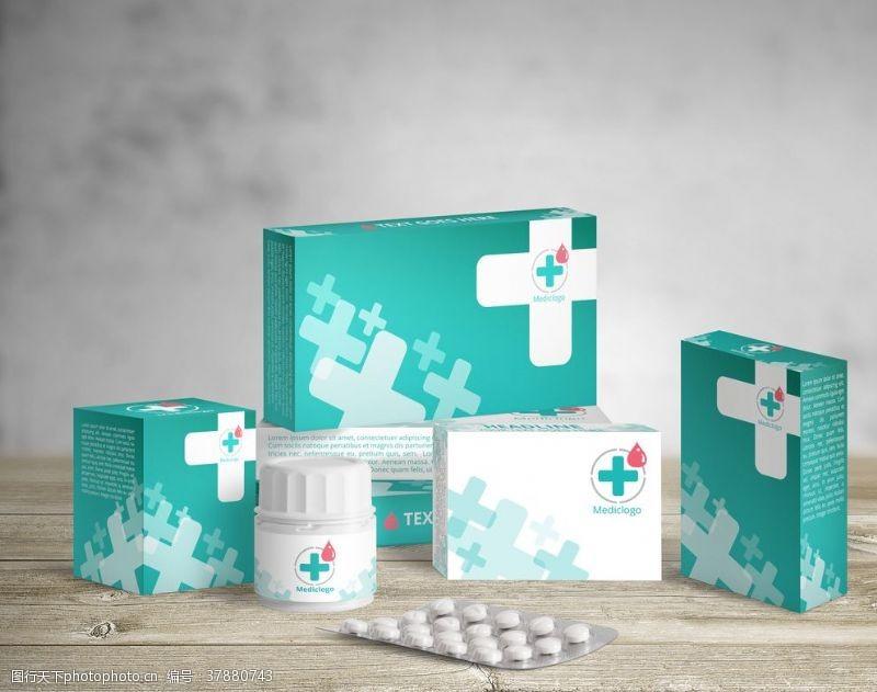 vi药品盒子样机