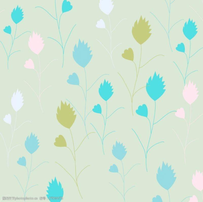 花纹中式花边图案