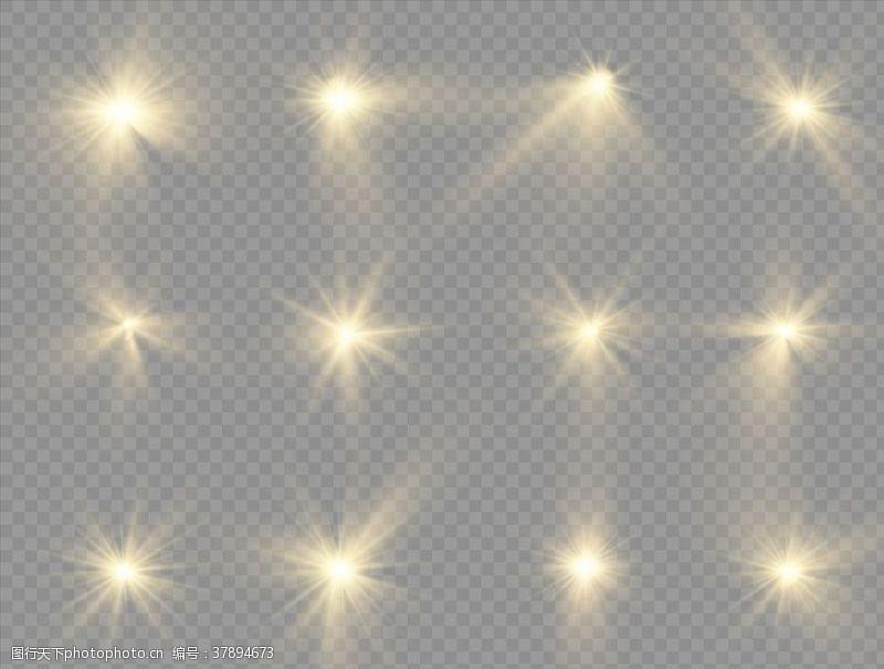灯光字体光晕