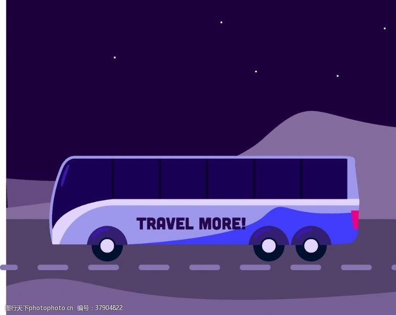 玩具游戏卡通大巴士