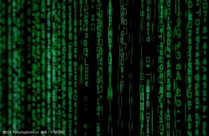代码科技背景