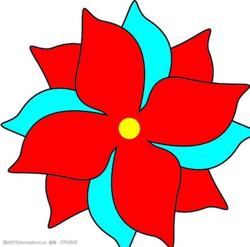 花瓣矢量图