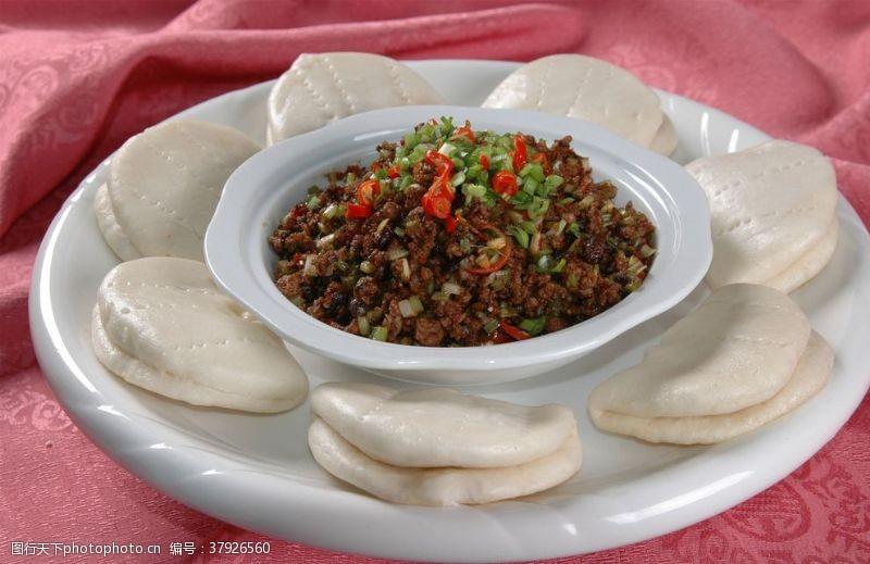 高清菜谱用图辣酱肉末