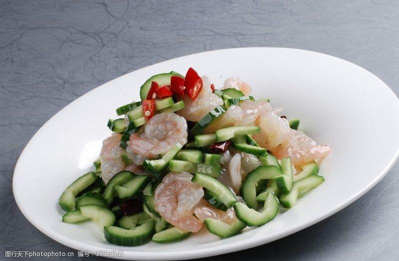 高清菜谱用图青瓜虾仁