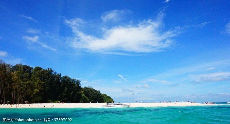 泰国的大海
