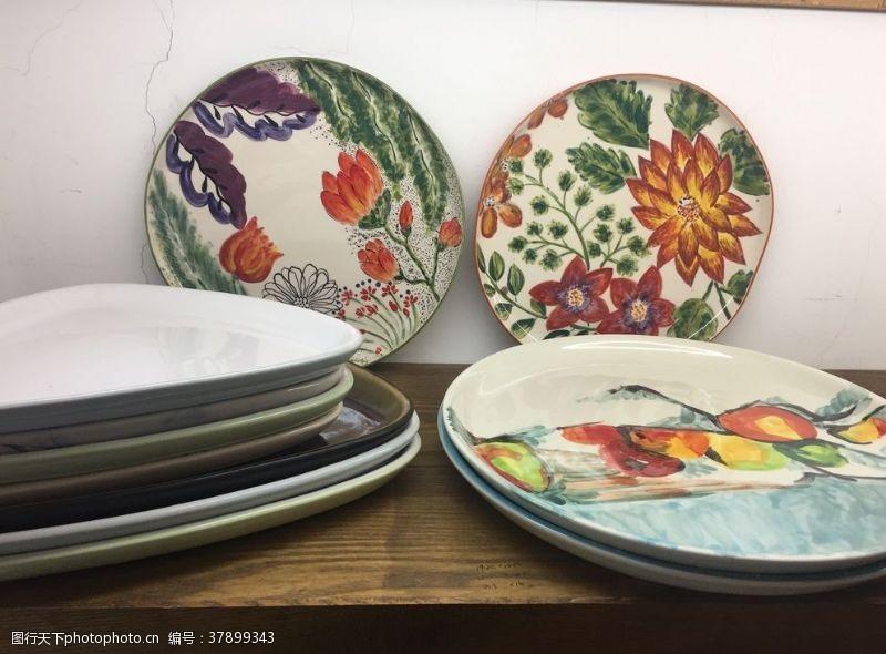 苹果陶瓷盘