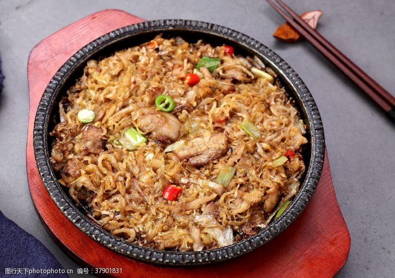 韩餐五花肉酸菜