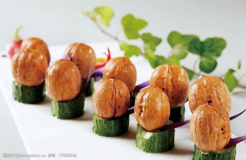 高清菜谱用图卤水核桃