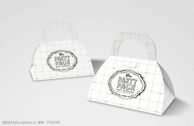 展示手提餐饮盒子包装