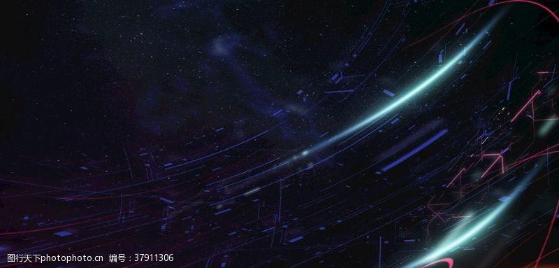 唯美星空星空背景