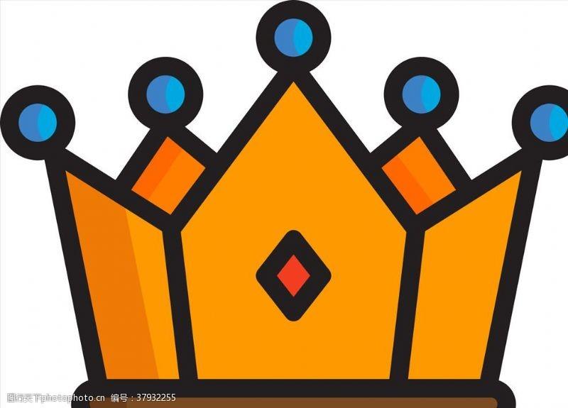 卡通设计皇冠