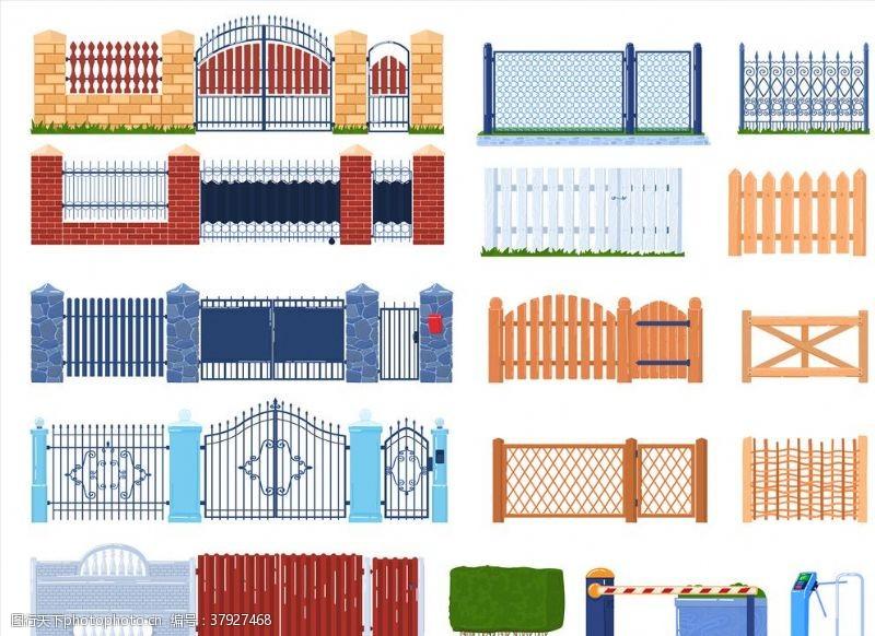 景观设计围栏设计