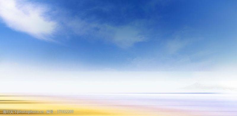 蓝天草地蓝天背景
