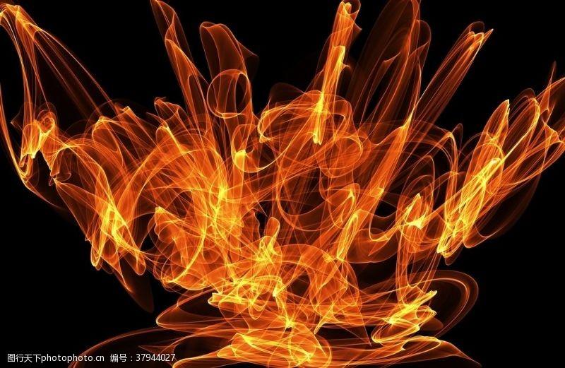 房地产背景火焰背景