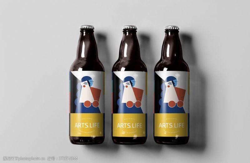 饮料啤酒样机