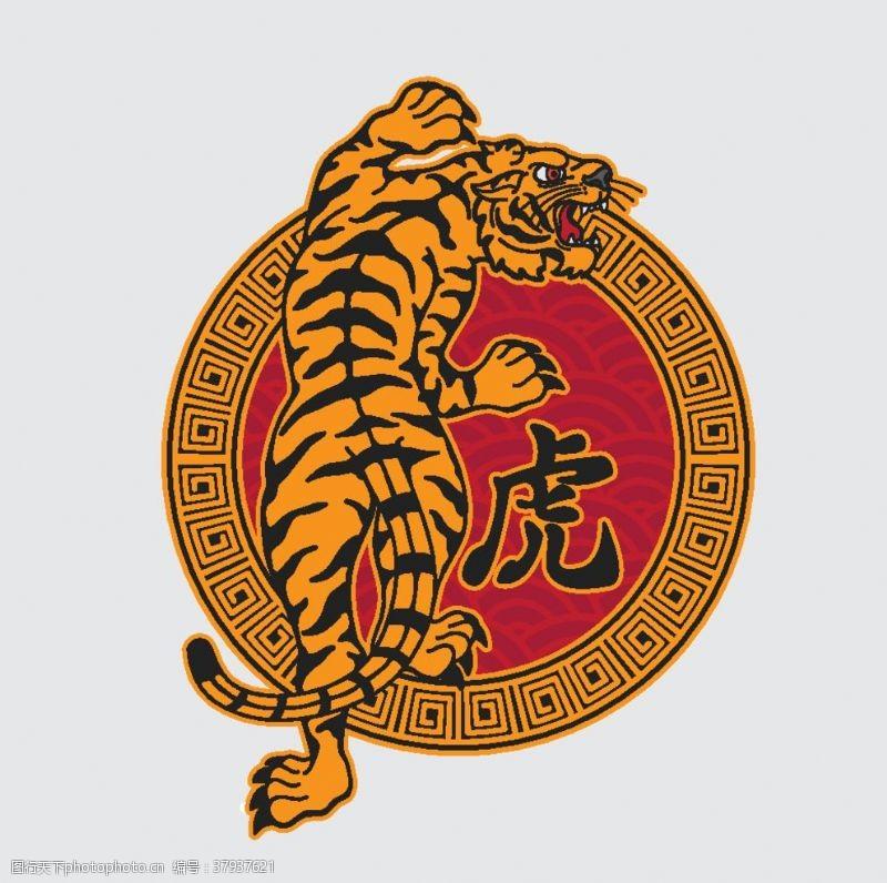 霸道日本传统虎纹