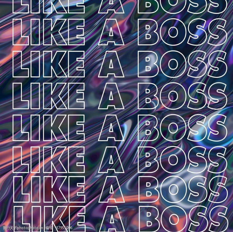 赛博朋克潮流风格品牌线上海报
