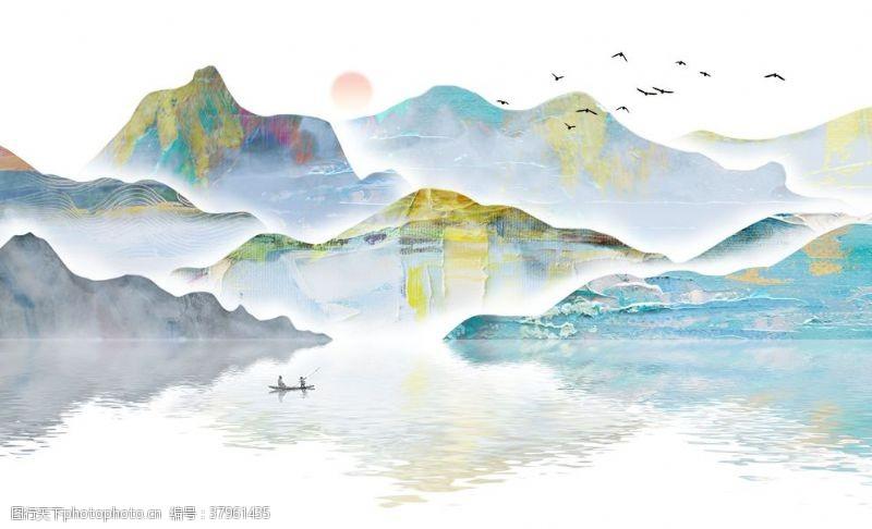 山水画意境山水