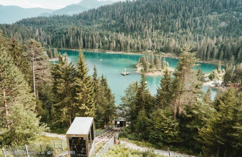 山水画风景