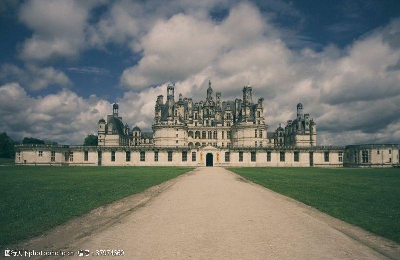 建筑园林古典欧式城堡
