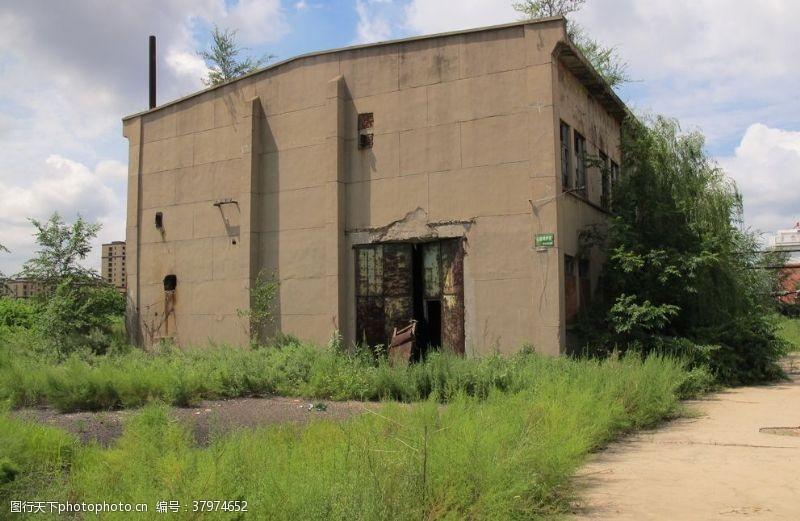 建筑园林老厂房