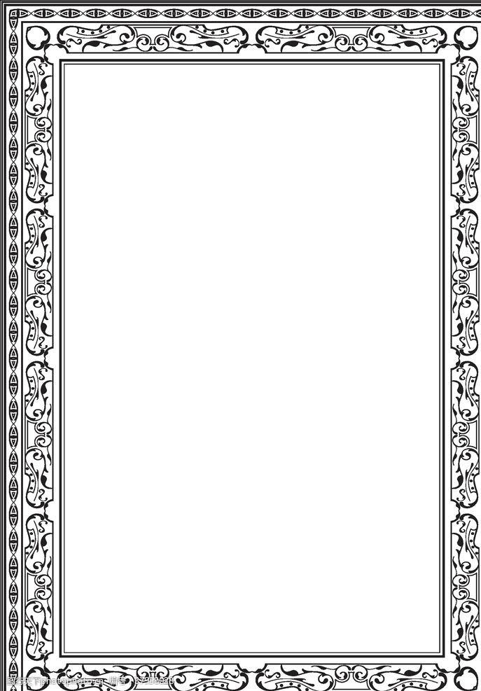 边框相框欧式边框复古