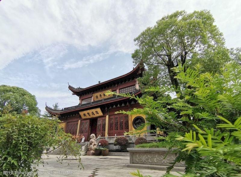 建筑园林寺庙圆通宝殿
