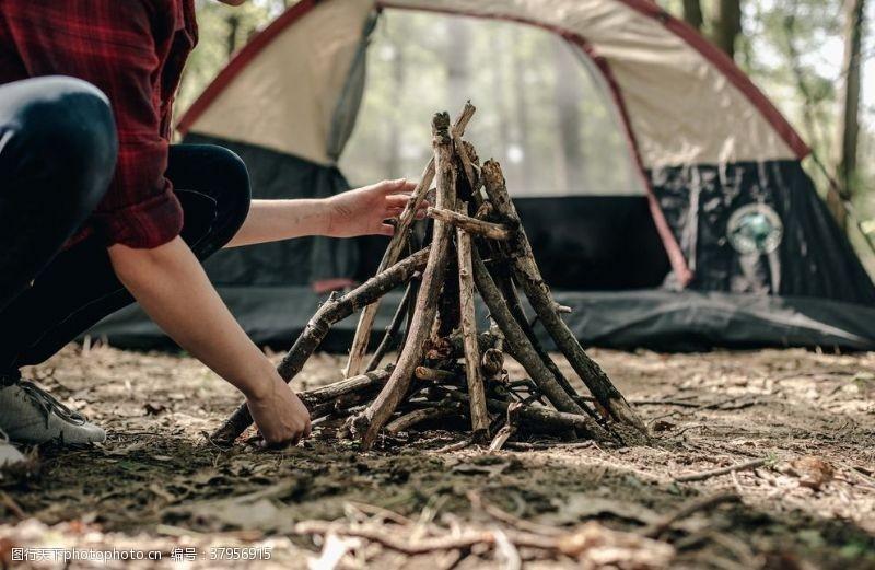 野外露营野外生活