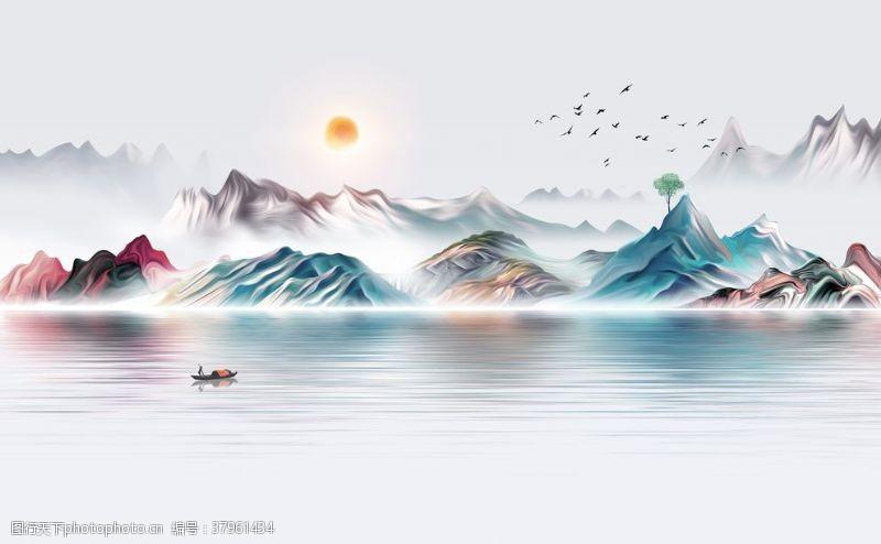 意境山水画