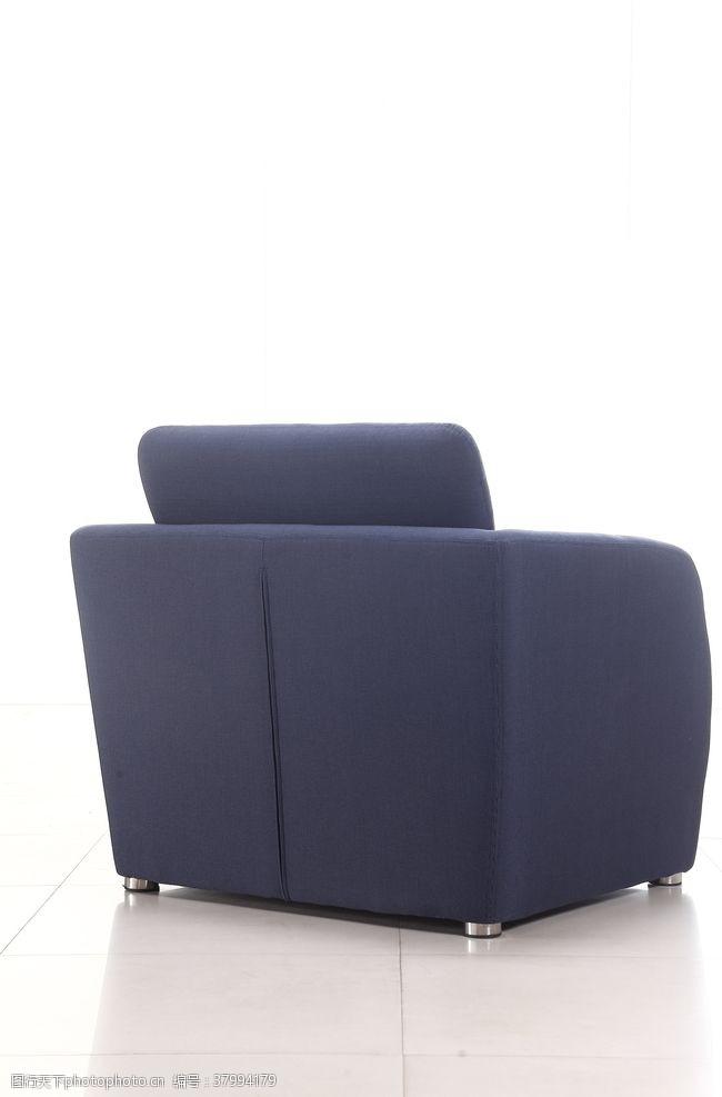 350dpi深蓝色沙发背面