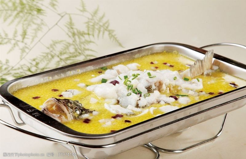 小米汤滑鲈鱼