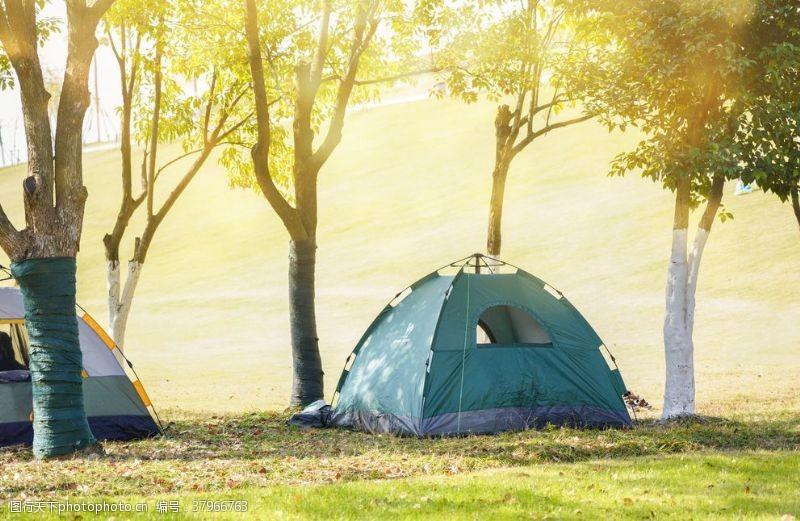 野外帐篷露营