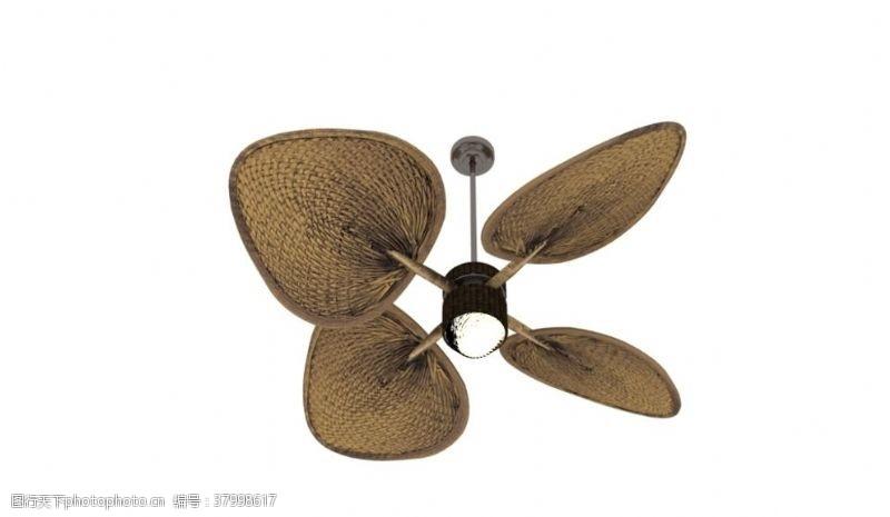 3d作品电风扇3d模型