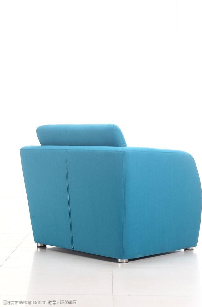 350dpi蓝色沙发背面