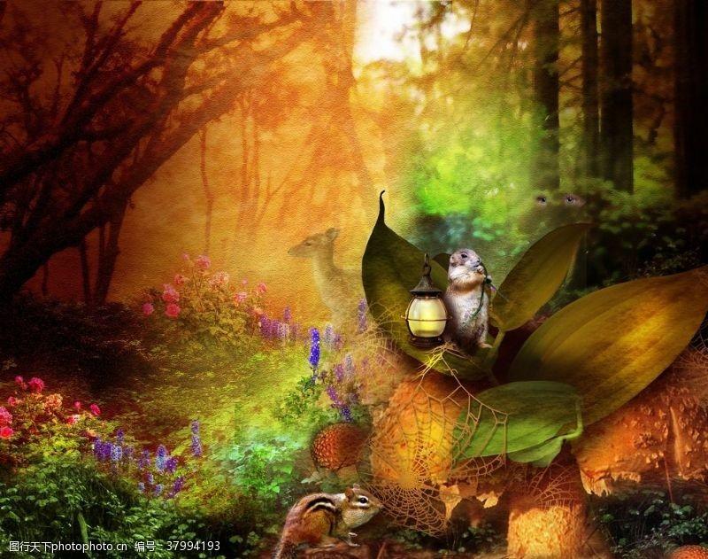 海报设计童话世界