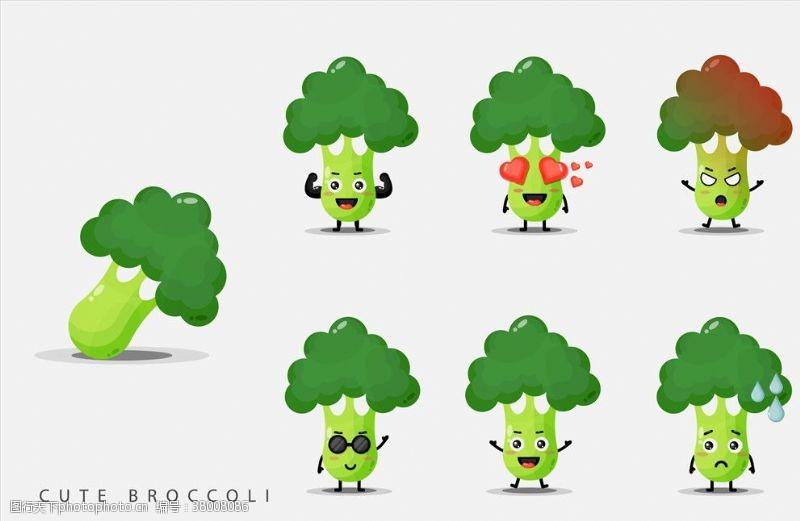 北欧素材卡通蔬菜