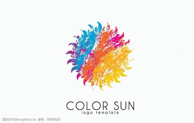 创意彩色logo