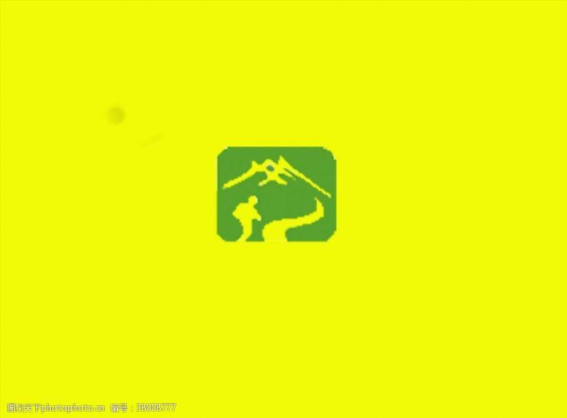 登山运动户外标志