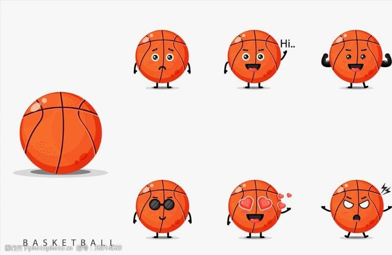 篮球剪影篮球
